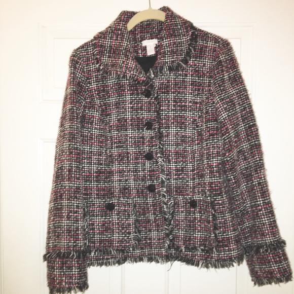 Chico's Jackets & Blazers - Chicos vicky rainbow colorful blazer size 1